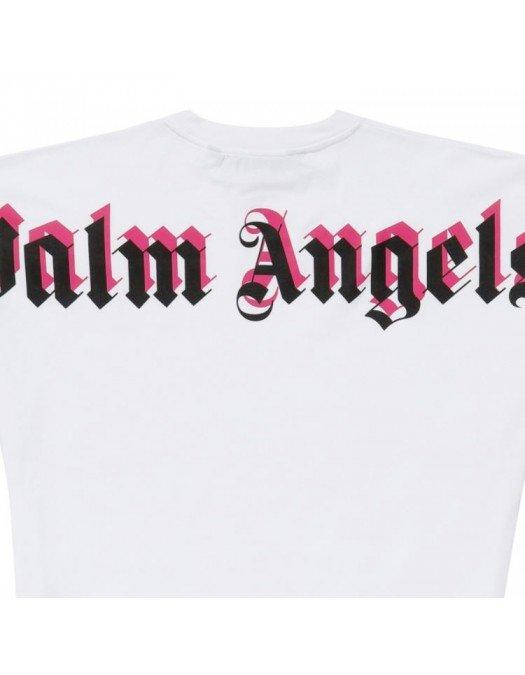 TRICOU PALM ANGELS, 3D Logo, Bumbac - PMAA002S21JER0040132