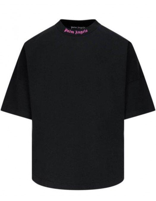 TRICOU PALM ANGELS, 3D Logo, Black - PMAA002S21JER0041032