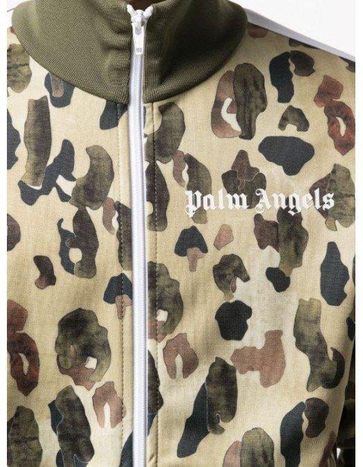 JACHETA PALM ANGELS, Camouflage Print - PMBD001S21FAB0025601
