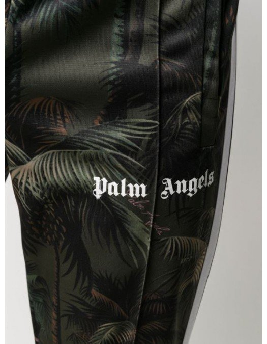 PANTALONI PALM ANGELS, Jungle Print - PMCA007S21FAB0015556