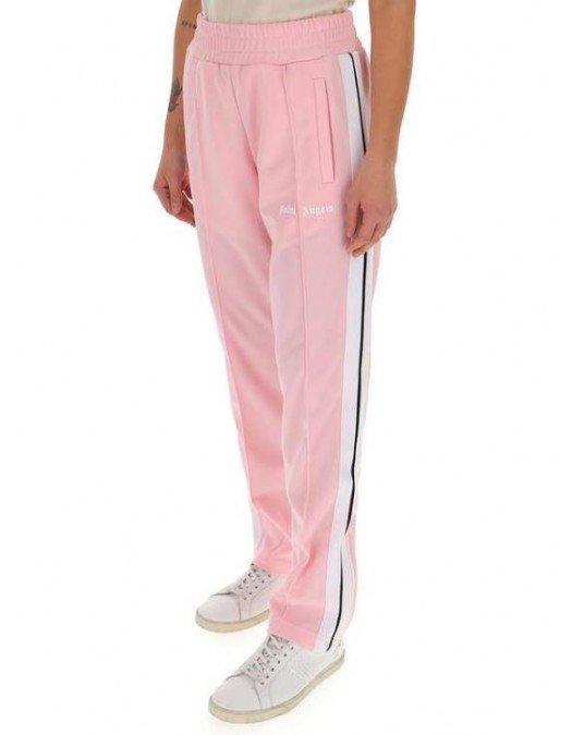 PANTALONI PALM ANGELS, Pink, 100% Poliester - PWCA035S21FAB0013001