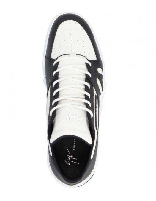 Sneakers Giuseppe Zanotti, Talon trainers White Black - RM10005011