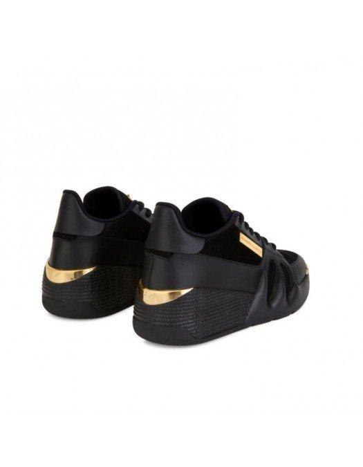 Sneakers GIUSEPPE ZANOTTI, Black suede Talon - RS10036002