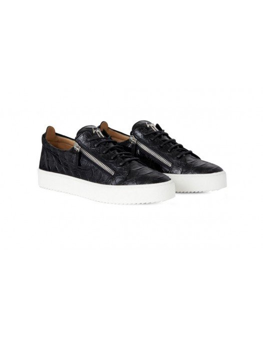 Sneakers GIUSEPPE ZANOTTI, Frankie Black Koi print - RU00010067