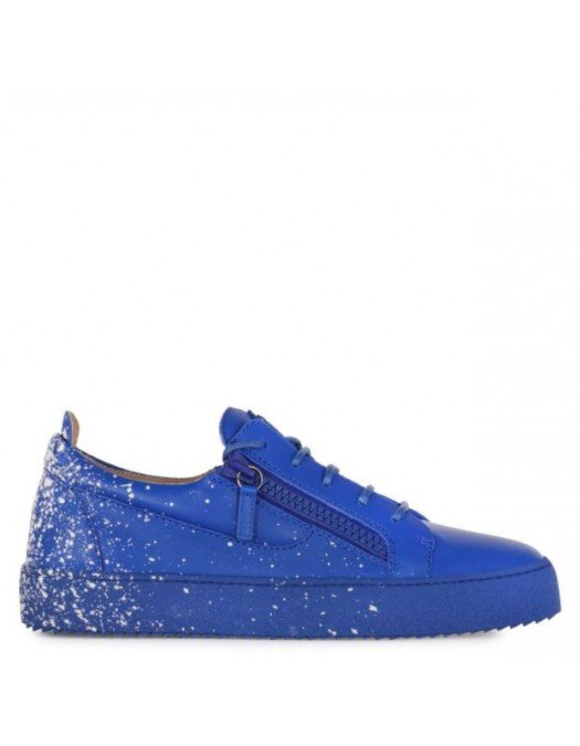 Sneakers GIUSEPPE ZANOTTI, Frankie Spray, Albastru - RU00024007