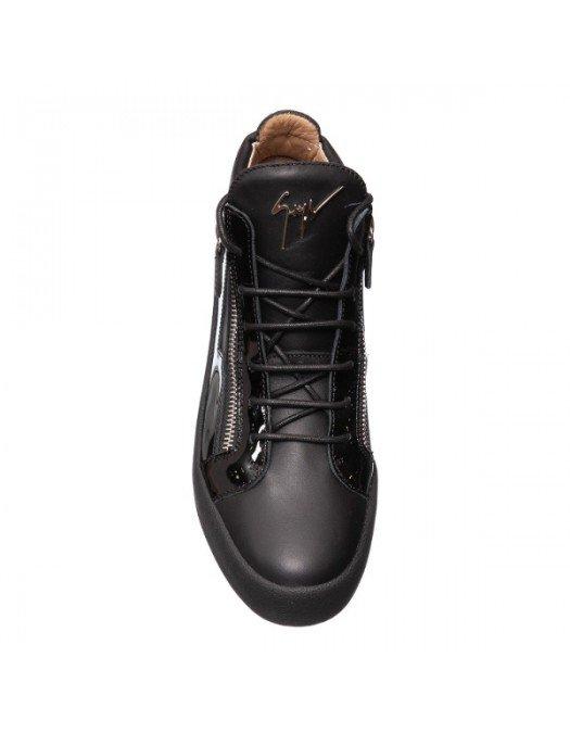 Sneakers GIUSEPPE ZANOTTI, Negru lucios - RU70009115