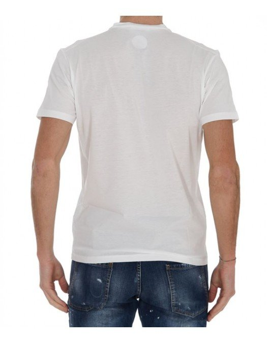 TRICOU DSQUARED2, Short Sleeves, white - S71GD1040S23009100