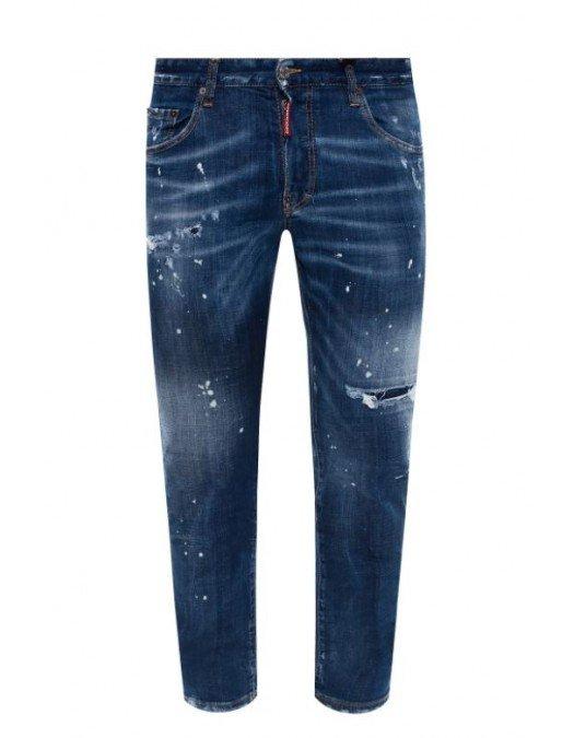 Jeans Dsquared2, Skater Jeans, Albastru - S71LB0774470