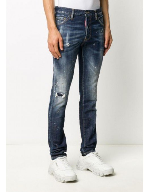Jeans Dsquared2, Cool Guy Jeans, Albastru - S71LB0778470