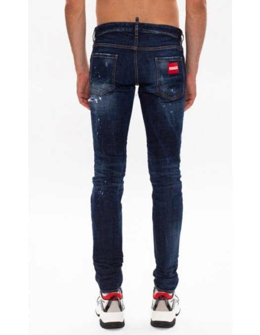 Jeans Dsquared2, Slim Jeans, Albastru - S71LB0781470