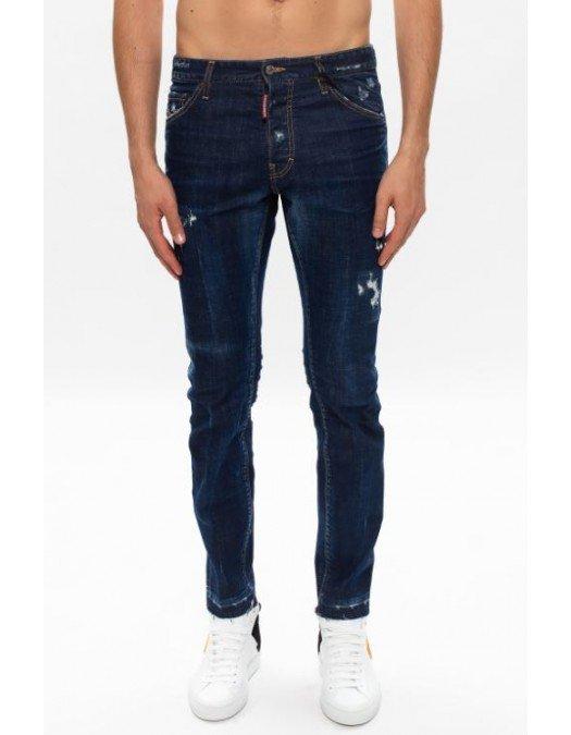 Jeans Dsquared2, Cool Guy Jeans, Albastru - S71LB0790470