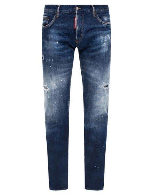 Jeans Dsquared2, Slim Fit Jeans, Albastru - S71LB0794470