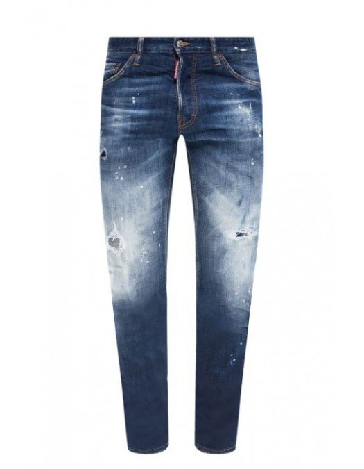 Jeans Dsquared2, Slim Fit Jeans, Albastru - S71LB0795470
