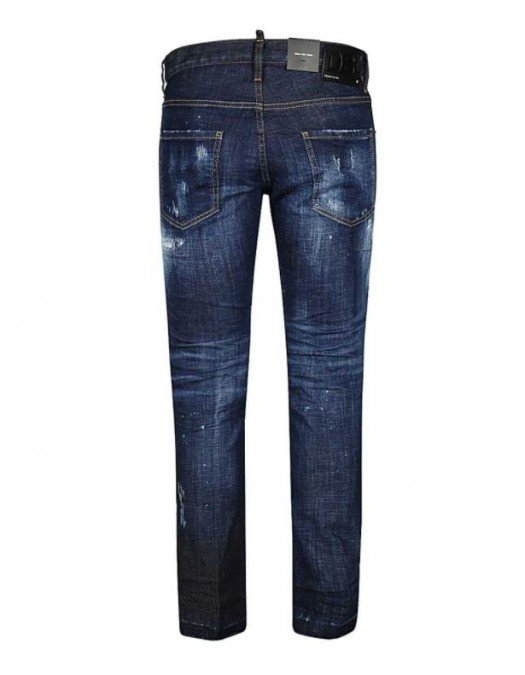 Jeans Dsquared2, Cool Guy Jeans, Albastru - S71LB0816470