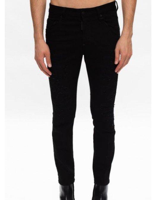 Jeans Dsquared2, Skater Jean, Negru - S71LB0844900