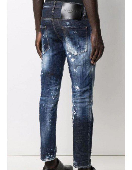 Jeans DSQUARED2, Efect de Stropire, Bumbac - S71LB0944S30685470