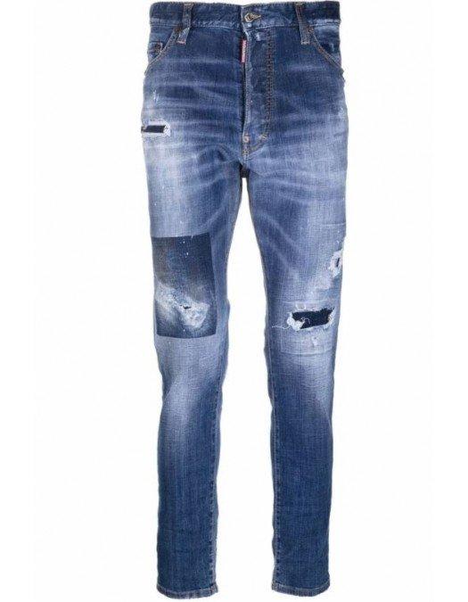 JEANS DSQUARED2, Blue, Slim Cut - S71LB0950S30342470