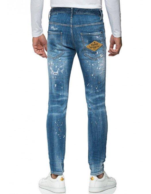 Jeans DSQUARED2, Eticheta Denim Stuff, Croiala Skater Jean - S71LB0952S30342470