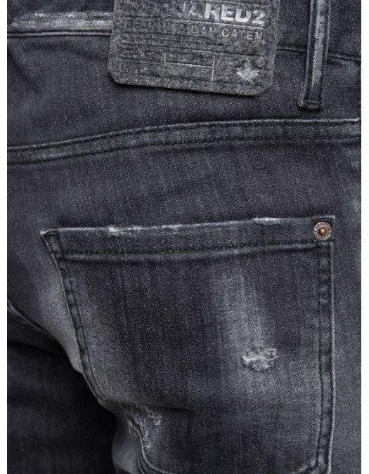JEANS DSQUARED2, Cool Guy Jeans Black Patch - S71LB0977S30503900