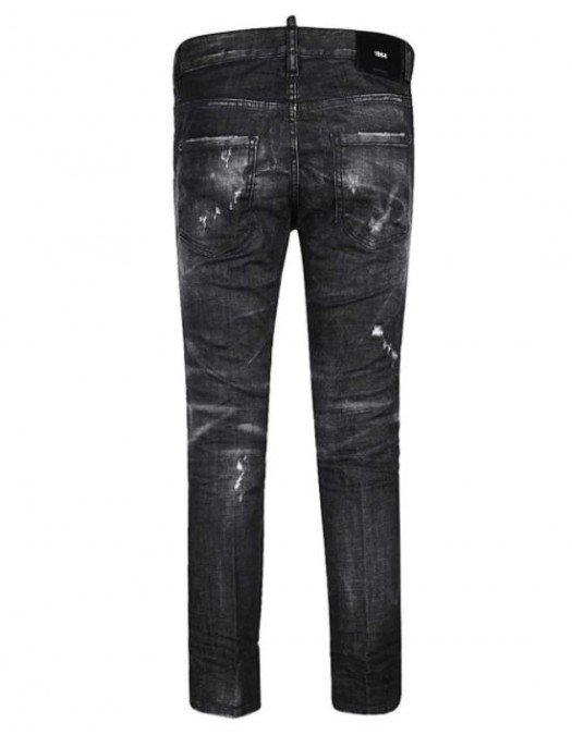 Jeans Dsquared2, Cool Girl, Negru - S72LB0337900