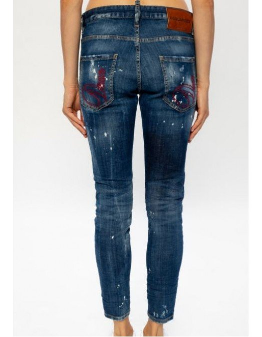 Jeans Dsquared2, Skinny Jean, Albastru - S72LB0352470