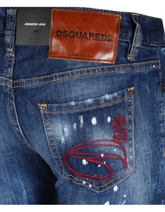 Jeans Dsquared2, Jennifer Jeans, Albastru - S72LB0353470