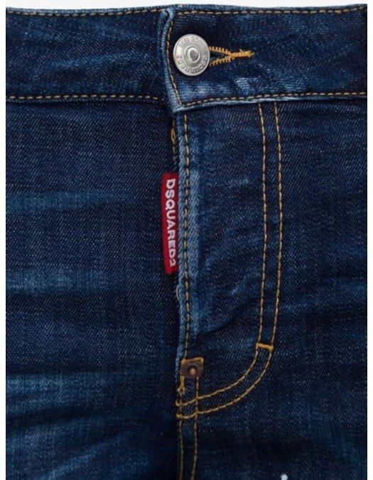 Jeans Dsquared2, Hockney Jeans, Eticheta frunza - S74LB0853470