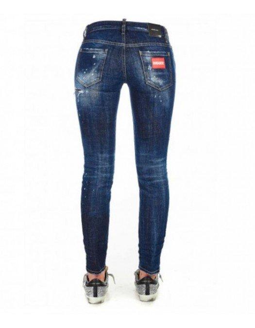 Jeans Dsquared2, Jennifer Jeans, Albastru - S72LB0359470