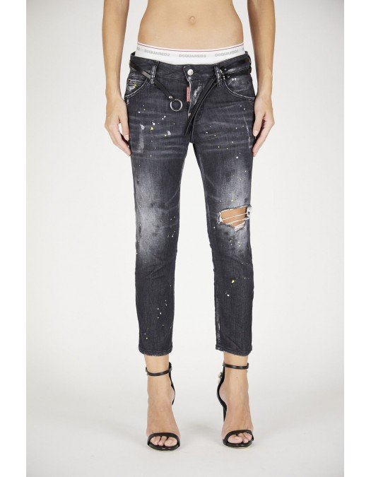 BLUGI DSQUARED2 Cool Girl Crop Jeans- S72LB0404S30503900