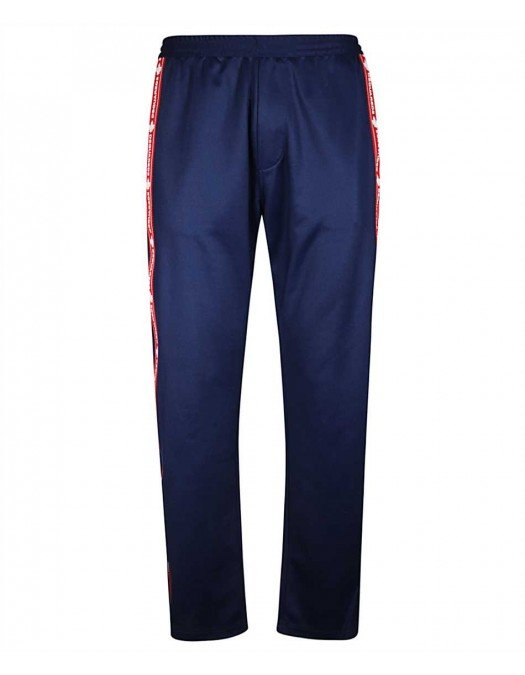 Pantaloni DSQUARED2, Banda logo, Albastru - S74KB0476477