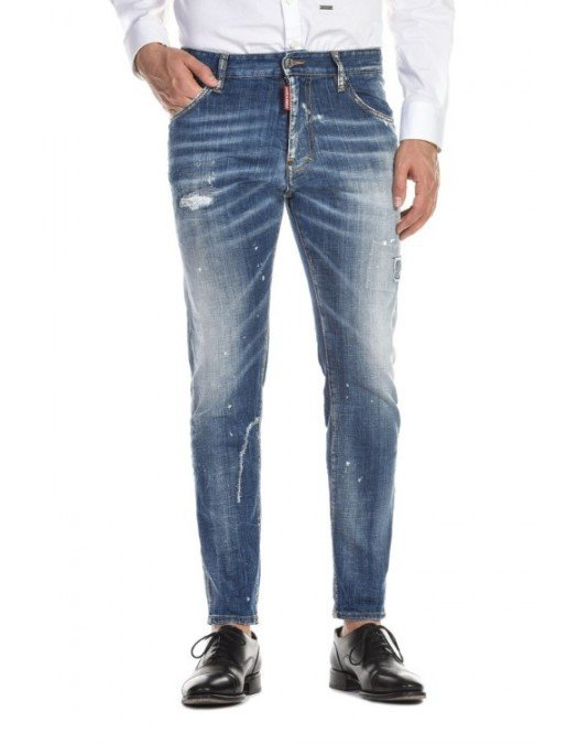 JEANS DSQUARED2 SS20 STRAIGHT LEG BOOT CUT JEANS - S74LB0671470 - JEANS BARBATI