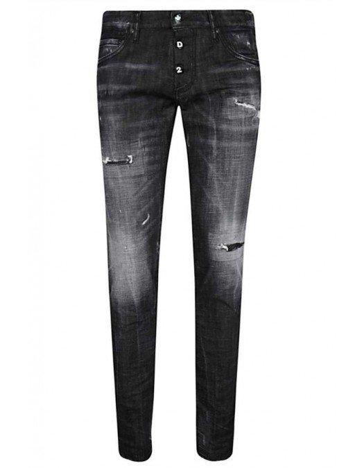 Jeans DSQUARED2, Nasturi DSQ, Croiala  Slim Jean - S74LB0784900