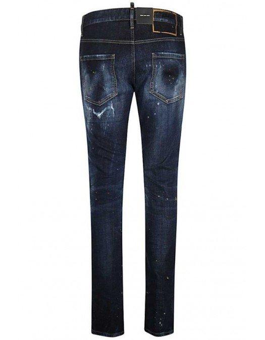 Jeans Dsquared2,Cool Guy Jeans, Denim Blue S74LB0932S30664470 - S74LB0932S30664470