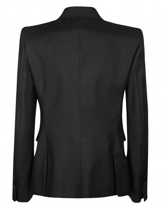 Sacou DSQUARED2, Patch frontal brodat, Negru - S75BN0722900