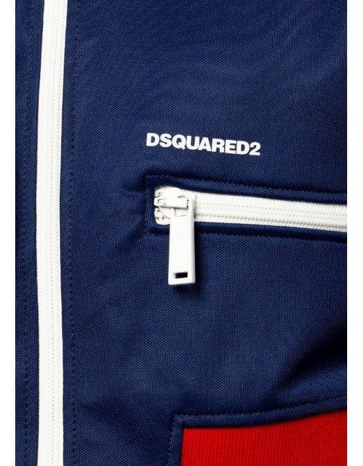 Jacheta DSQUARED2, Albastru Rosu - S75HG0062477
