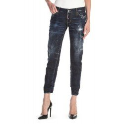 BLUGI DSQUARED2 SS20 JENNIFER CROPPED JEANS