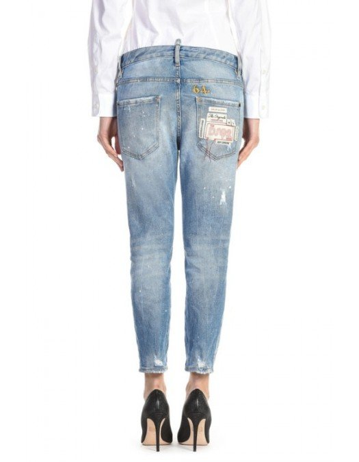 JEANS DSQUARED2 SS20 COOL GIRL - S75LB0283470 - JEANS FEMEI