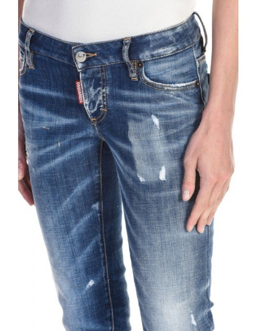 JEANS DSQUARED2 SS20 COOL GIRL STONEWASHED JEANS - S75LB0323470 - JEANS FEMEI