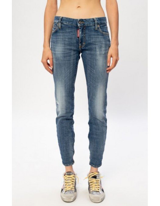 Jeans Dsquared2,  Medium Waist Twinggy, Denim - S75LB0377470