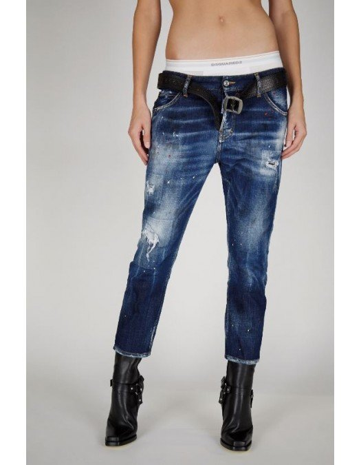 Jeans Dsquared2, Cool Girl Cropped Jeans,  S75LB0465S30342470 - S75LB0465S30342470