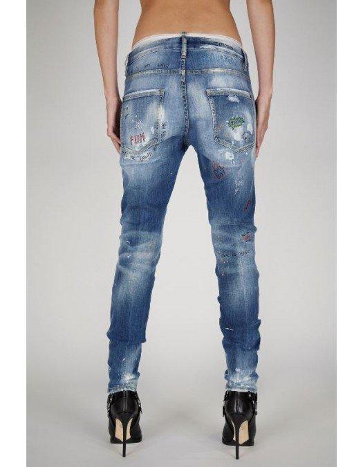 Jeans Dsquared2, Croiala Skinny jeans, S75LB0490S30708470 - S75LB0490S30708470