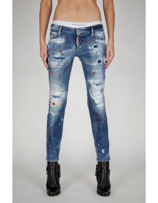 Jeans DSQUARED2, Jennifer Cropped Jeans, S75LB0491S30708470 - S75LB0491S30708470