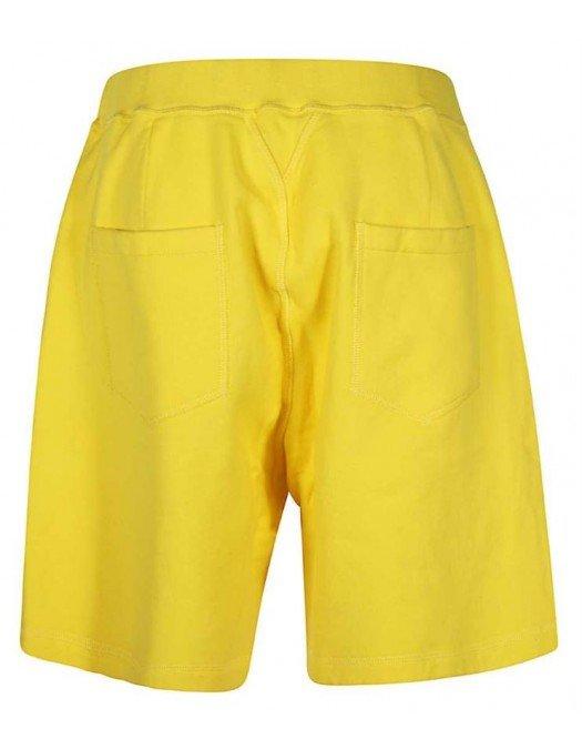 Pantaloni scurti DSQUARED2, Icon negru, Galbeni - S79MU0005S25042174