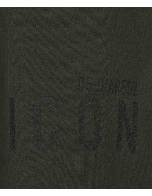 Pantaloni Scurti Dsquared2, Kaki, Icon atasat - S79MU0007S25042814