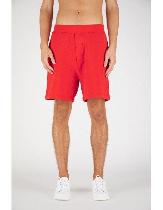 Pantaloni Scurti DSQUARED2, Rosu, Bumbac - S79MU0018S25042312