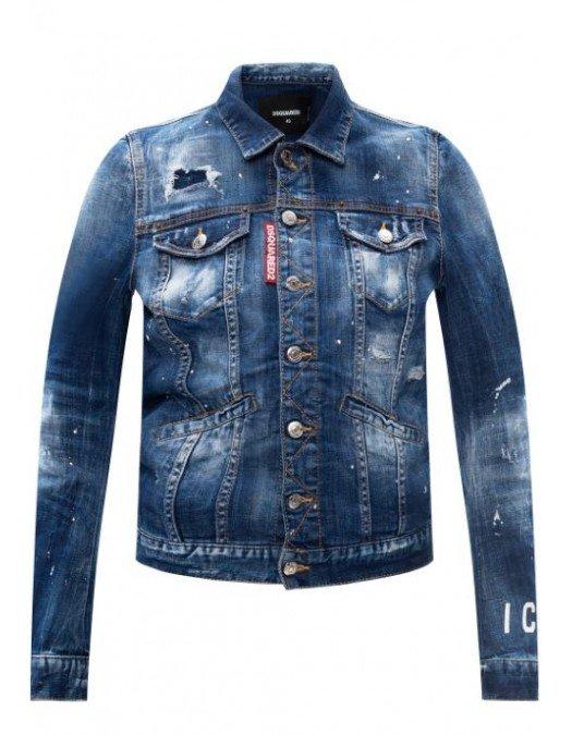 Jeans Dsquared2, Aspect Uzat, Denim - S80AM0007470