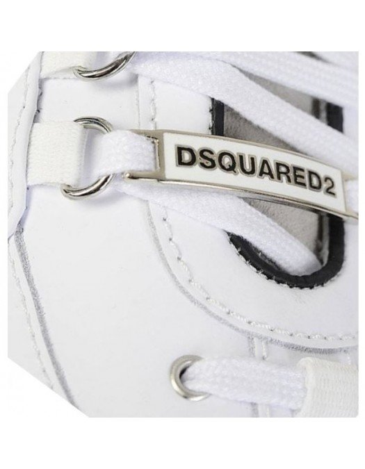 Sneakers DSQUARED2, White and Blue - SNM015330801660M328