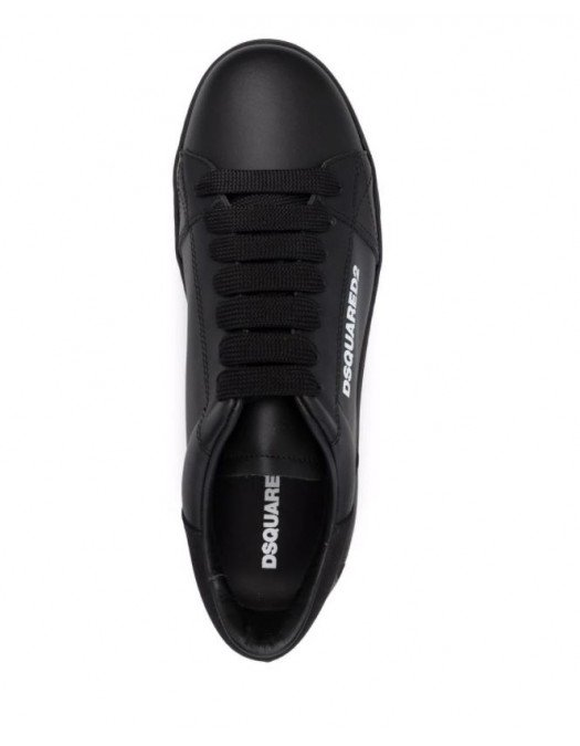 SNEAKERS DSQUARED2,  Logo Leaf, Leather - SNM0173065004132124