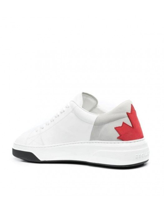 SNEAKERS DSQUARED2,  Leaf Logo, White - SNM017306500413M1476