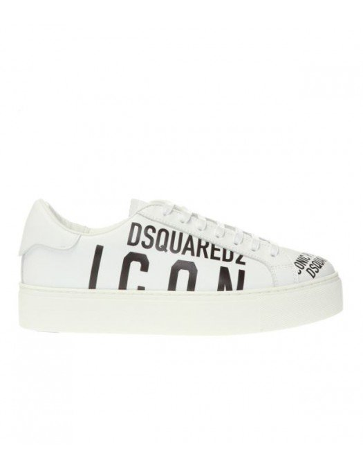 Sneakers Dsquared2, Insertie Dsquared2 Icon, Alb - SNW0008M1899